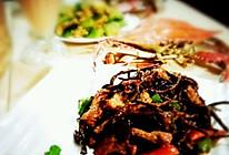 茶树菇牛柳的做法