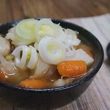 猪肉味增汤
