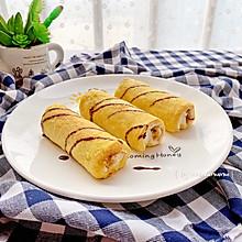 十分钟早餐—肉松吐司卷#春季减肥,边吃边瘦#