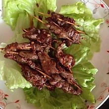 牙签肉(牛肉或猪肉,羊肉)