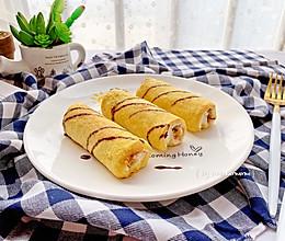 十分钟早餐—肉松吐司卷#春季减肥,边吃边瘦#的做法