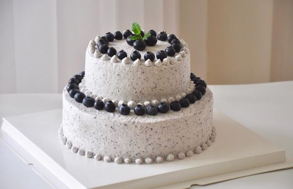 蓝莓双层蛋糕【视频】