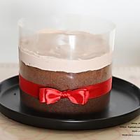 吃一口就爱上的爆浆奶盖可可蛋糕的做法图解17