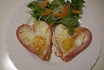 浪漫早餐-爱心煎蛋的做法
