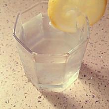 美白柠檬蜂蜜水