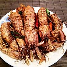 吮指椒盐皮皮虾 秘制拿手菜