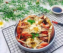 #精品菜谱挑战赛#盐水焖梭子蟹的做法