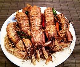 吮指椒盐皮皮虾 秘制拿手菜的做法