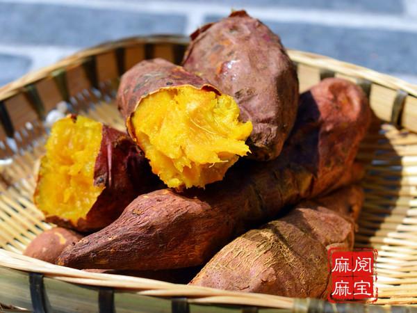空气炸锅版烤红薯的做法