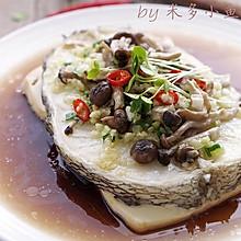 鳕鱼蟹味菇豆腐蒸——年夜饭品质海鲜大餐