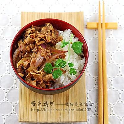 香辣豆豉肥牛盖饭