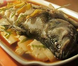 鲈鱼豆腐(抗癌生酮食谱)的做法