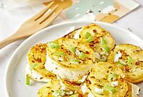 创意哈罗米奶酪新吃法——香煎土豆奶酪夹的做法