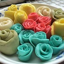玫瑰花馒头(入门级)
