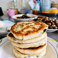 #换着花样吃早餐#香葱煎饼