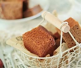 #快手又营养,我家的冬日必备菜品#红糖红枣糕的做法