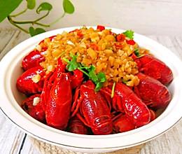 蒜香小龙虾(附清洗方法)的做法