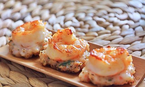 薄荷虾煎的做法