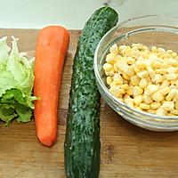 塑造A4腰的食谱——蔬菜沙拉的做法图解1