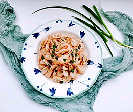砂锅姜葱焗小白虾的做法
