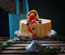 焦糖奶油淋面蛋糕#相约MOF#的做法