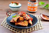 酱香五花肉煎豆腐#黑人牙膏一招制胜#的做法