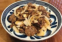 黑椒牛肉爆洋葱的做法