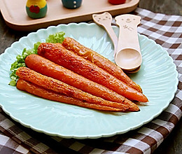 烤胡萝卜~简单美味又健康的宝宝辅食的做法