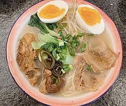 汤都喝干净的日式拉面的做法