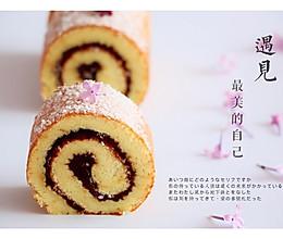 椰蓉豆沙蛋糕卷的做法