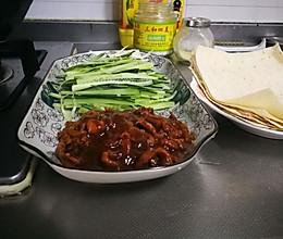 京酱肉丝卷饼的做法