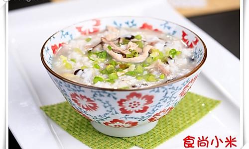 香菇瘦肉粥的做法