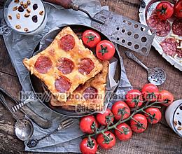 10分钟早餐-吐司片披萨的做法