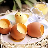 元旦圆蛋~萌萌哒原壳鸡蛋布丁的做法图解10