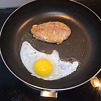 如何把鸡胸肉做嫩,快手早餐的做法图解4