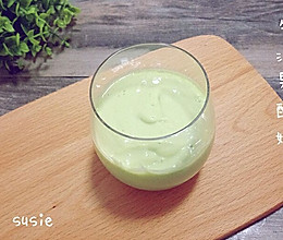【丰胸果汁】牛油果酸奶的做法