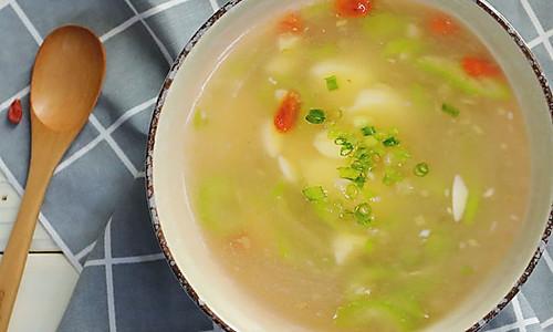 炎炎夏日来碗清爽丝瓜日本豆腐汤!的做法