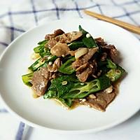 秋葵炒肉片#太太乐鲜鸡汁中式#的做法图解10