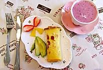 牛油果菠萝被蛋卷的做法