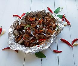 剁椒锡纸金针菇花甲的做法