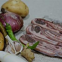 嫩烤黑椒时蔬羊排的做法图解1