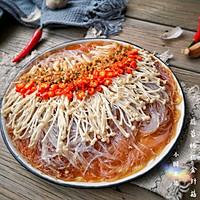 蒜蓉粉丝蒸金针菇——快手下饭就靠它的做法图解16