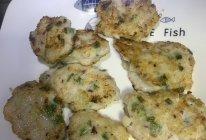 #鲜到鲜得,月满中秋,沉鱼落宴#香葱马蹄墨鱼饼的做法
