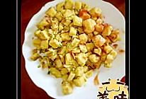鸡蛋炒南瓜馒头的做法
