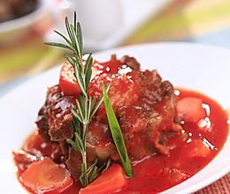 当归牛尾番茄补肾汤的做法