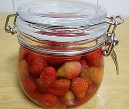 瘦身草莓酒的做法