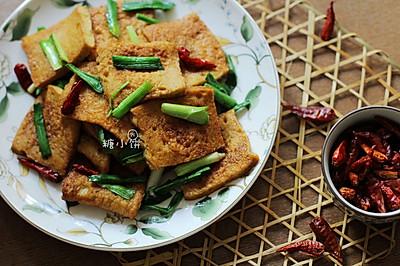 超下饭素食【孜然千页豆腐】
