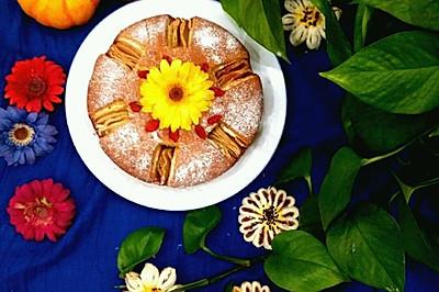 苹果磅蛋糕#豆果5周年#