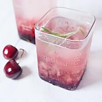 樱桃苏打水的做法图解6