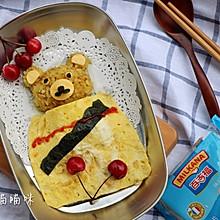 日式小熊咖喱便当#百吉福食尚达人#
